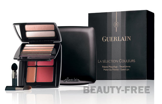Guerlain La Selection Couleurs Makeup Palette Eye-Lips