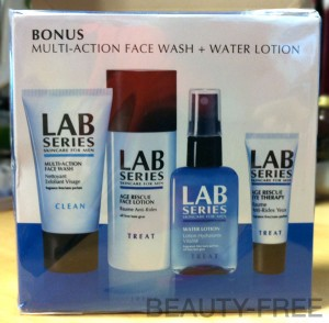 Lab Series Multi-Action Face Wash + Water Lotion set