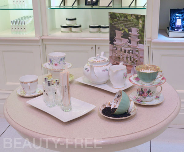 Jo Malone tea promotion at Heathrow