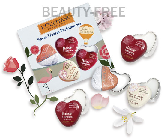 L'Occitane Sweet Hearts Perfume set