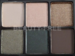 MAC Packed to Go 6 Warm Smoky Eye Shadows