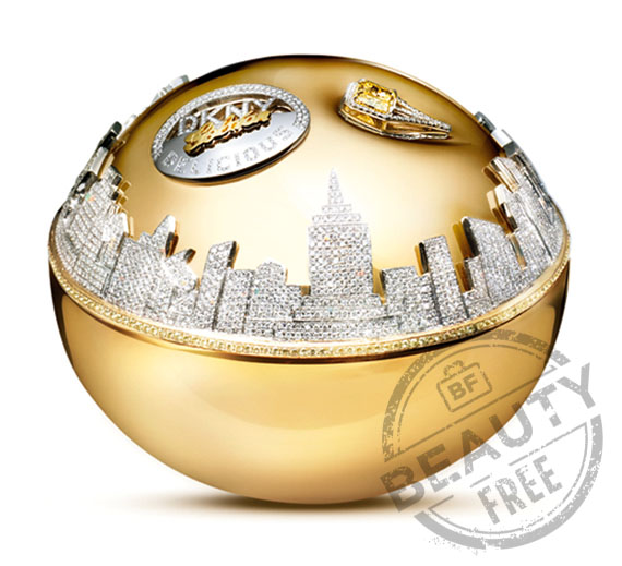 DKNY Million Dollar fragrance bottle