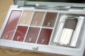 Clinique Day to Night Colour palette