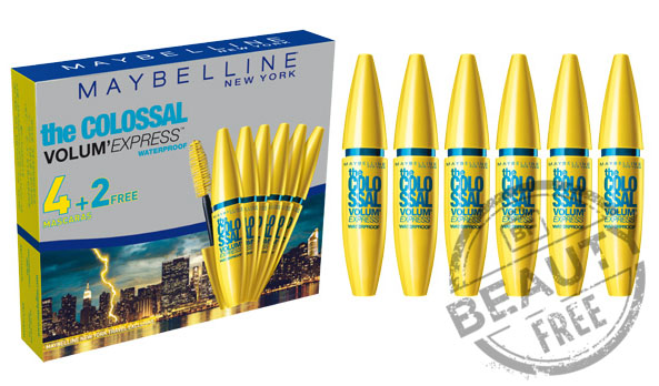 Maybelline Sexto The Colossal Volum'Express