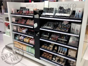 Artdeco Cosmetics display at Hamburg airport
