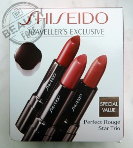 Shiseido Perfect Rouge Star Trio