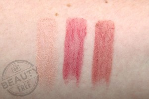 Burberry Lip Cover Signature Collection swatches